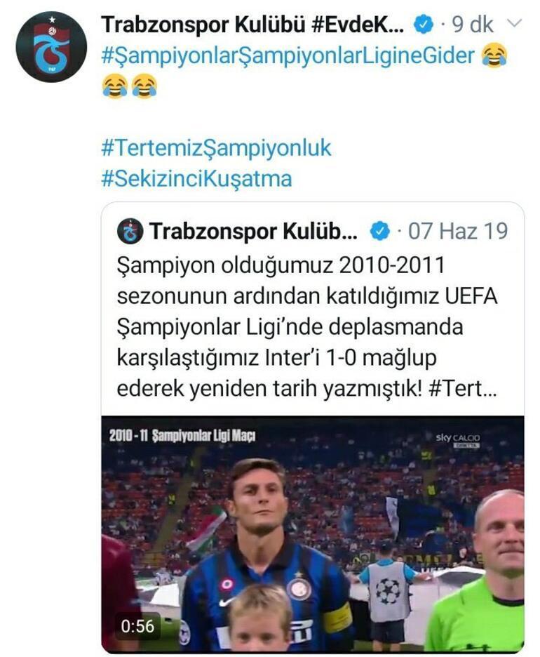 Fenerbahçe ve Trabzonspordan 2010-2011 için karşılıklı paylaşım
