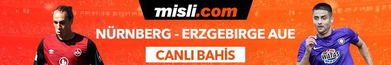 Nürnberg - Erzgebirge Aue maçı Canlı Bahis ve Tek Maç seçenekleriyle Misli.com'da