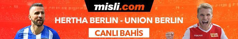 Hertha Berlin - Union Berlin maçı Canlı Bahis ve Tek Maç seçenekleriyle Misli.com'da