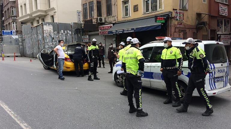 Son dakika haberler: Taksicinin inisiyatifi polisi şaşkına çevirdi