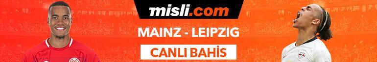Mainz - RB Leipzig maçı Canlı Bahis ve Tek Maç seçenekleriyle Misli.com'da
