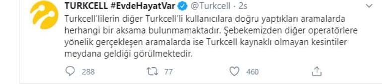 Telefon hatları neden çekmiyor ve çalışmıyor Turkcell, Türk Telekom ve Vodafone açıklama yaptı