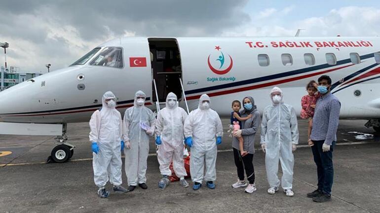 Bangladeşte corona tedavileri yapılmadı Türkiyeye getirildiler
