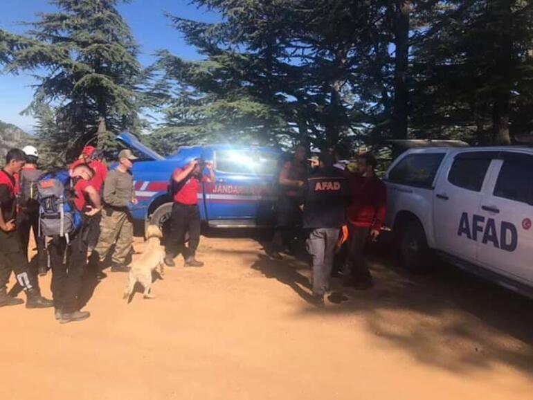 Fethiyede, 12 gündür kayıp dağcı için arama çalışmaları sürüyor
