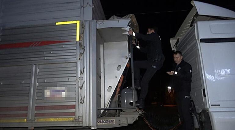 Polisin dur ihtarına uymadı Didik didik her yerde arandı