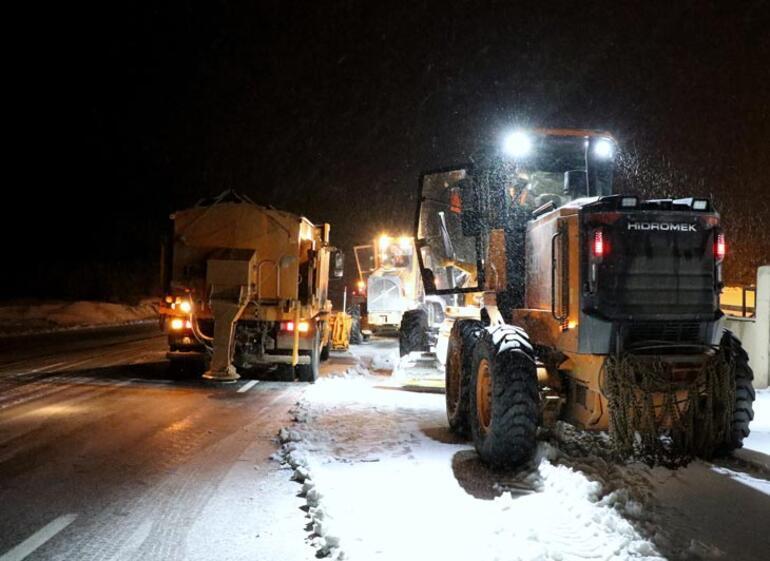 Son dakika haberi: Erzincan'da kar ve tipi etkili oluyor