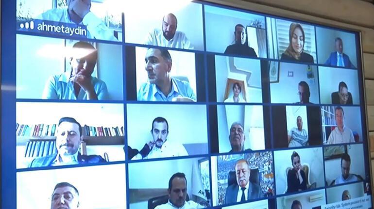 Bakan Pakdemirliden video konferanslı bayram kutlaması