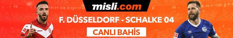 Düsseldorf - Schalke maçı Canlı Bahis ve Tek Maç seçenekleriyle Misli.com'da