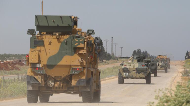 İdlibde Türk-;Rus 13. ortak devriyesi gerçekleşti