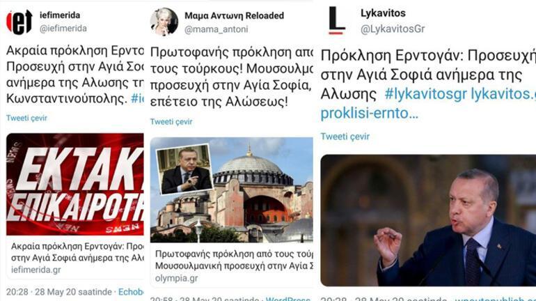 Son dakika...Ayasofya kararı Yunanistanı çıldırttı Türklerden eşi görülmemiş meydan okuma
