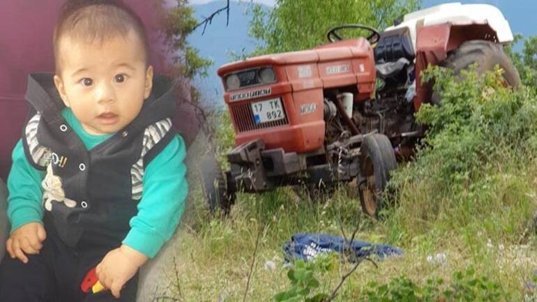 Traktörden düşerek Şafta sıkışan 3 yaşındaki çocuk hayatını kaybetti