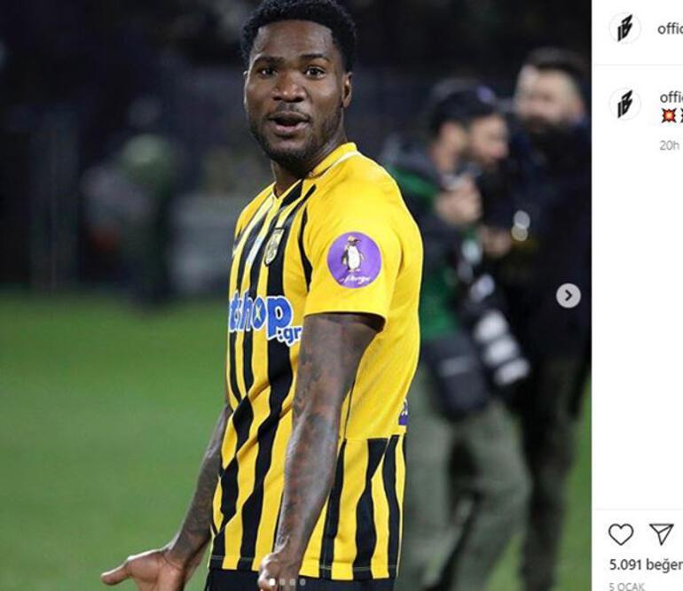 Brown Ideyeden transfer açıklaması Galatasaray...