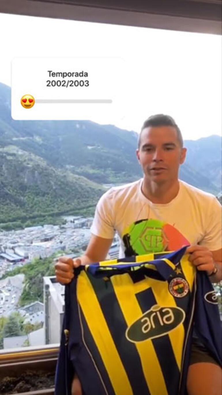 Savioladan Fenerbahçe formalı paylaşım
