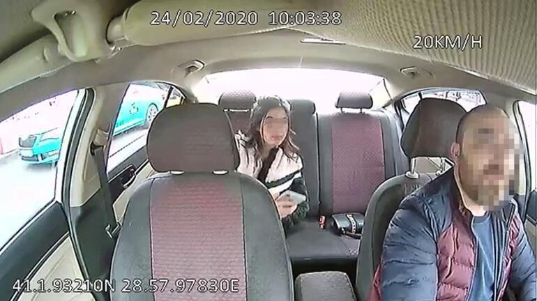 Son dakika I İstanbulda taksici dehşeti Genç kadını yere yatırıp boğazını sıktı