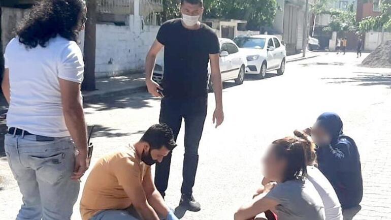 İzin gününde olan polisin yakaladığı hırsızlar tutuklandı