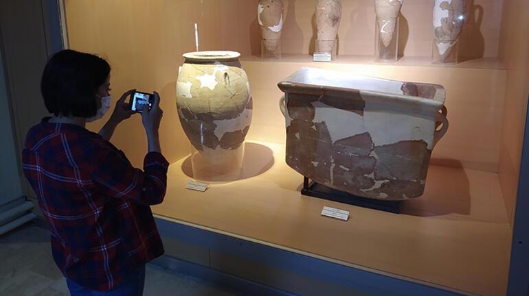 3 bin 500 yıllık küvet Günümüzde kullanılanlardan daha orijinal...
