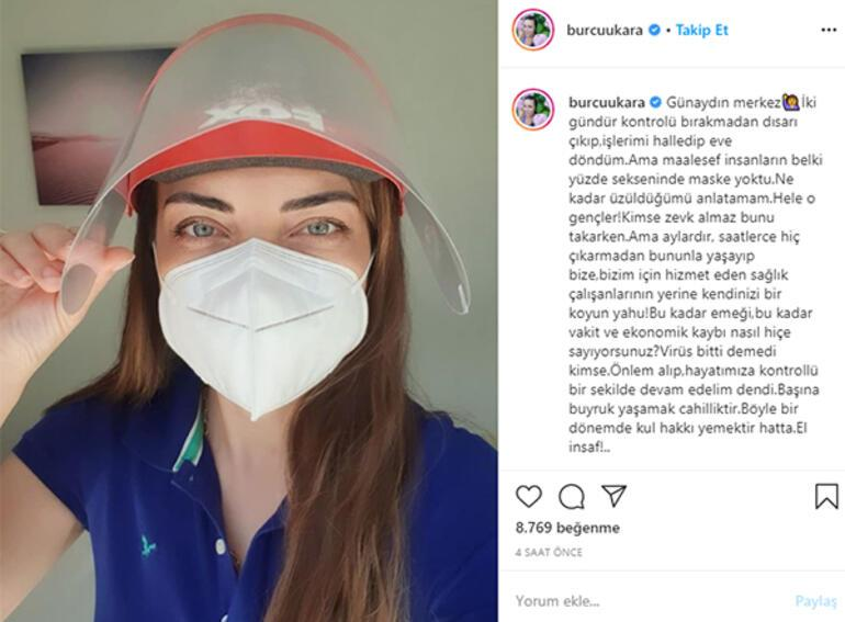 Burcu Kara: Kimse virüs bitti demedi