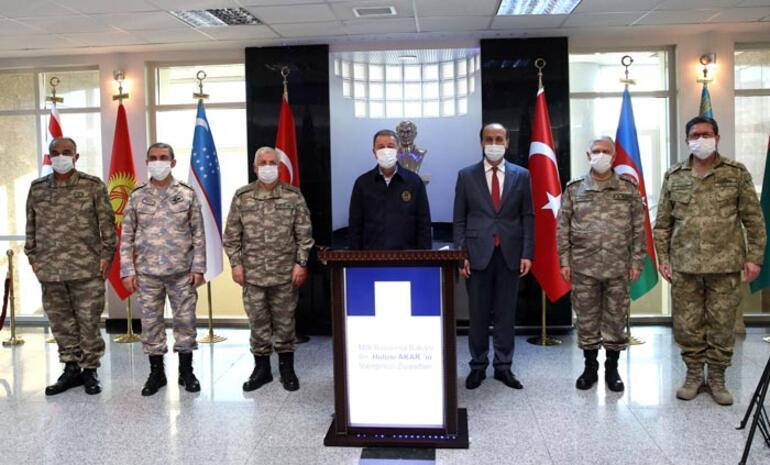 Bakan Akar ve TSK komuta kademesi Şanlıurfada