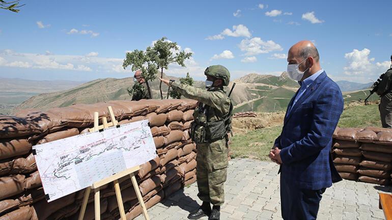 İçişleri Bakanı Süleyman Soylu sınırdan duyurdu: Bu yılın sonu itibarıyla tamamlanıyor