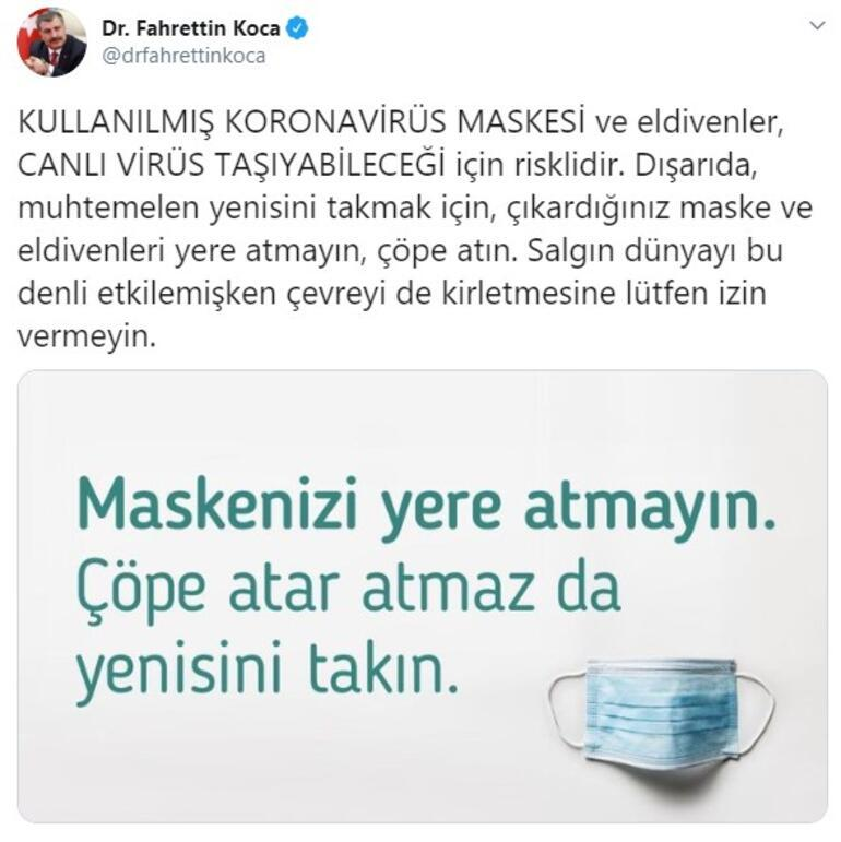 Son dakika: Bakan Fahrettin Kocadan flaş uyarı: Lütfen izin vermeyin