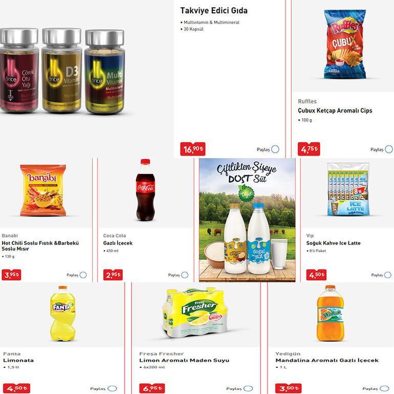 BİM aktüel katalog ürünleri - fiyatları yayınlandı İşte katalog