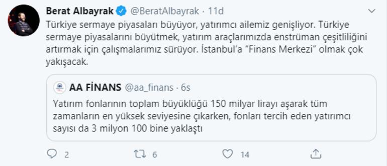 """Son dakika... Bakan Albayrak: İstanbul'a """"Finans Merkezi"""" olmak çok yakışacak"""