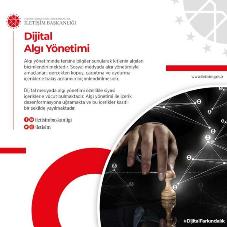 İletişim Başkanı Fahrettin Altundan dijital farkındalık çağrısı