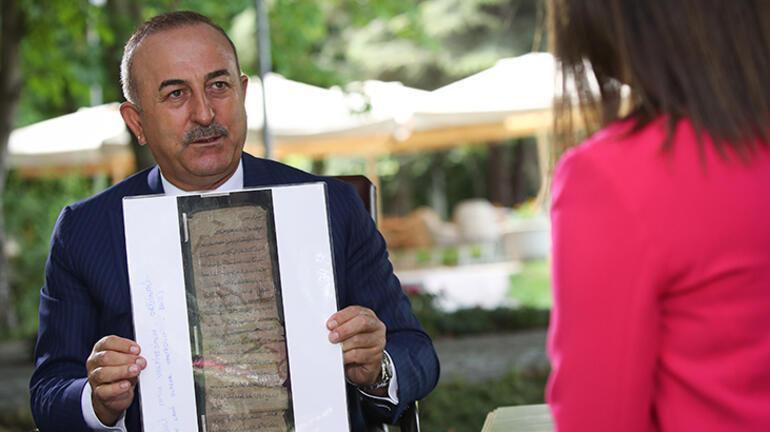 Son dakika: Bakan Çavuşoğlundan Ayasofya açıklaması