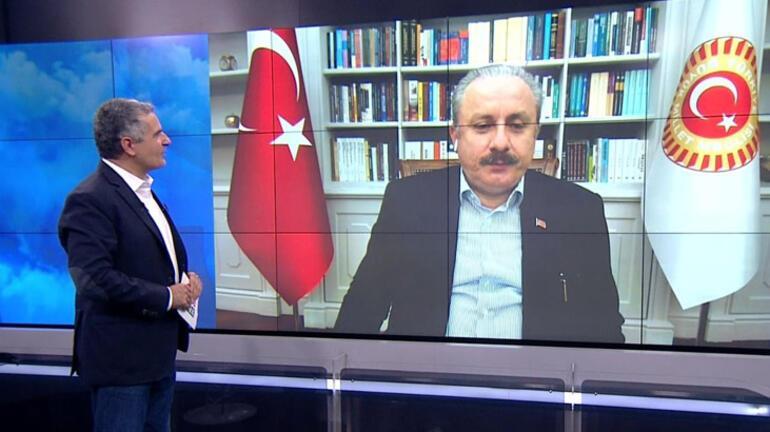 Son dakika: TBMM Başkanı Mustafa Şentoptan Ayasofya açıklaması
