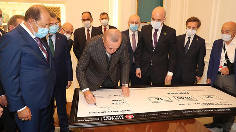 Son dakika: İstanbul Havalimanına 3. pist Cumhurbaşkanı Erdoğandan önemli açıklamalar