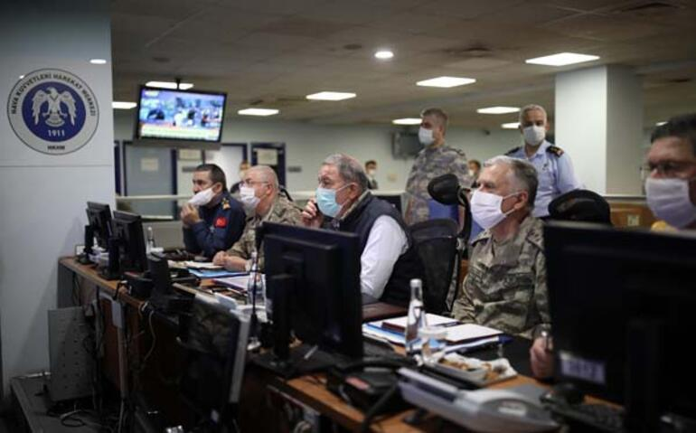Son dakika... Pençe-Kartal Operasyonu 81 hedef imha edildi...