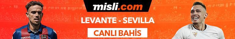 Levante - Sevilla maçı Tek Maç ve Canlı Bahis seçenekleriyle Misli.com'da