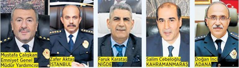 Son dakika... 5 ilin emniyet müdürü değişti İşte İstanbulun yeni emniyet müdürü...