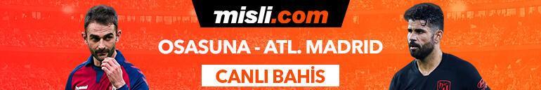 Osasuna - Atletico Madrid maçı Tek Maç ve Canlı Bahis seçenekleriyle Misli.com'da