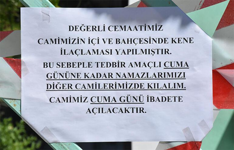 Sivasta camide görüldü iddiası harekete geçirdi 2 gün kapandı