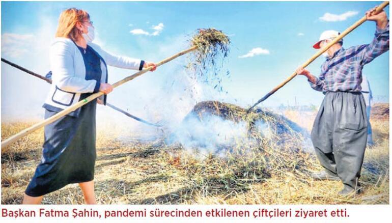 Kovid-19 ile mücadelede belediyeler birlik oldu Başkan Şahin: Salgını dayanışma ve güvenle aşıyoruz