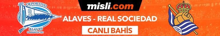 Alaves - Real Sociedad maçı Tek Maç ve Canlı Bahis seçenekleriyle Misli.com'da