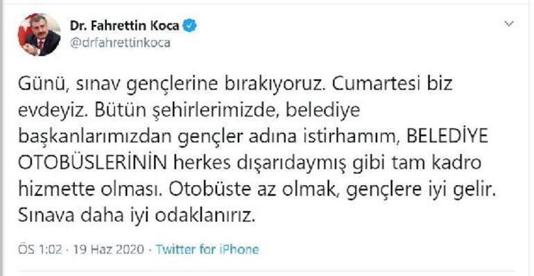 Sağlık Bakanı Fahrettin Kocadan son dakika açıklaması Belediye başkanlarına çağrı...