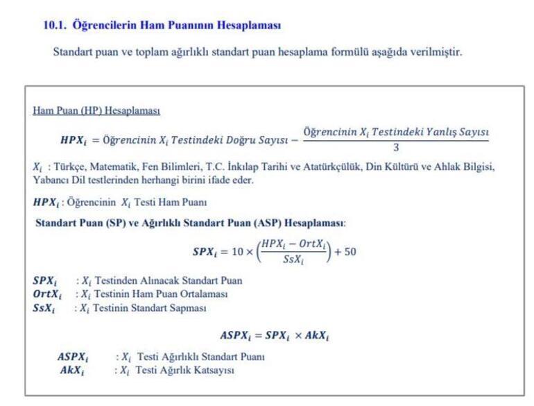LGS puan hesaplama nasıl yapılır 2020 LGS yüzdelik dilim hesaplama...