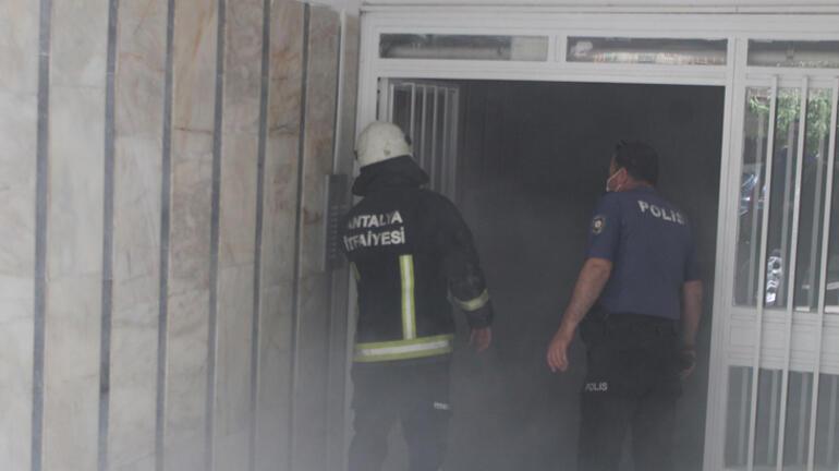 Antalya polisi ve itfaiyesini alarma geçiren olay