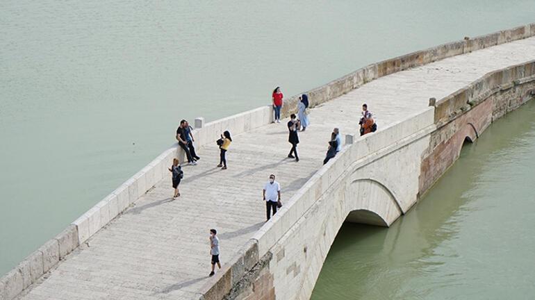 Kırıkkalede tarihi köprü yeniden ziyarete açıldı