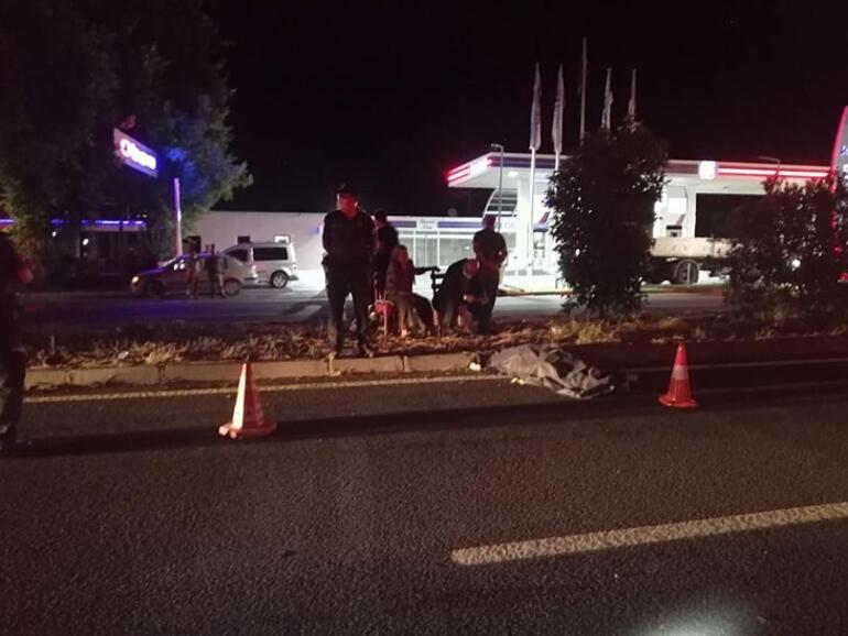 Gurbetçi kadın kazada öldü