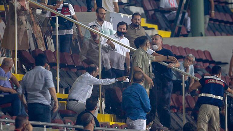 Son dakika   Alanyaspor - Trabzonspor maçı sonrası gerginlik