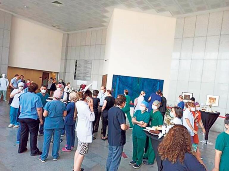 Sağlıkçılara vefa sergisi