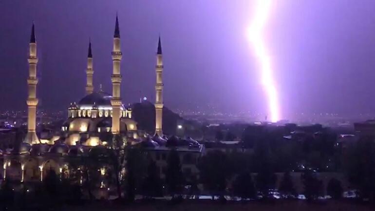 Akşam saatlerinde başladı Başkenti sardı