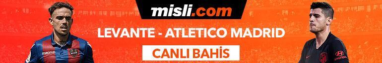 Levante - Atletico Madrid maçı Tek Maç ve Canlı Bahis seçenekleriyle Misli.com'da