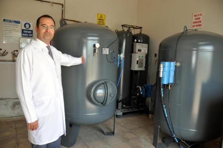 Malkara Devlet Hastanesi, oksijenini kendi üretiyor