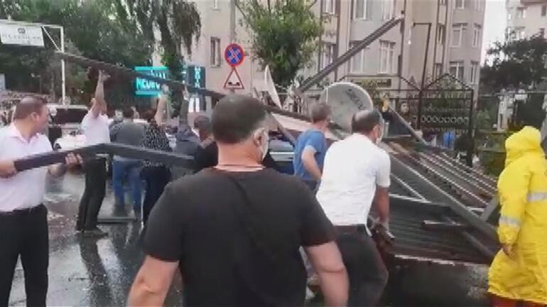Son dakika: Esenyurtu sağanak yıktı geçti Vali Yerlikaya acı haberi verdi