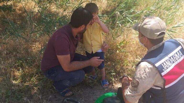 Elazığda kaybolan 4 yaşındaki Ömer, buğday tarlasında bulundu