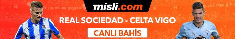 Real Sociedad - Celta Vigo maçıTek Maç ve Canlı Bahis seçenekleriyle Misli.com'da